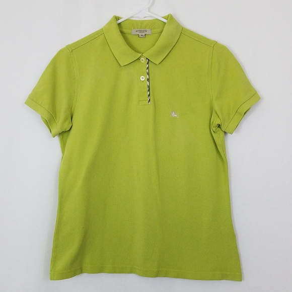 Burberry Tops - Burberry Womens Polo Green